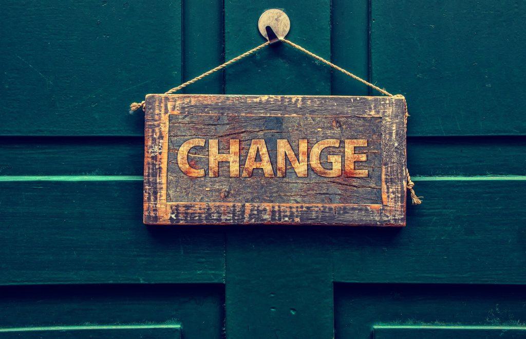 cambiamento perchè non dovresti averne paura