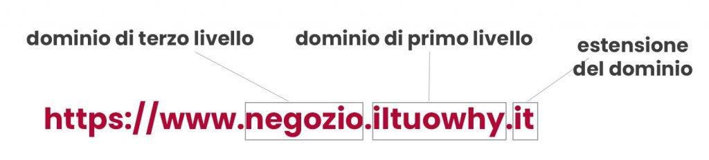 tipologie di domini di siti web