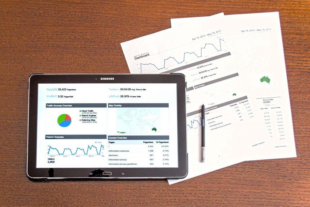 google search console e google analytics