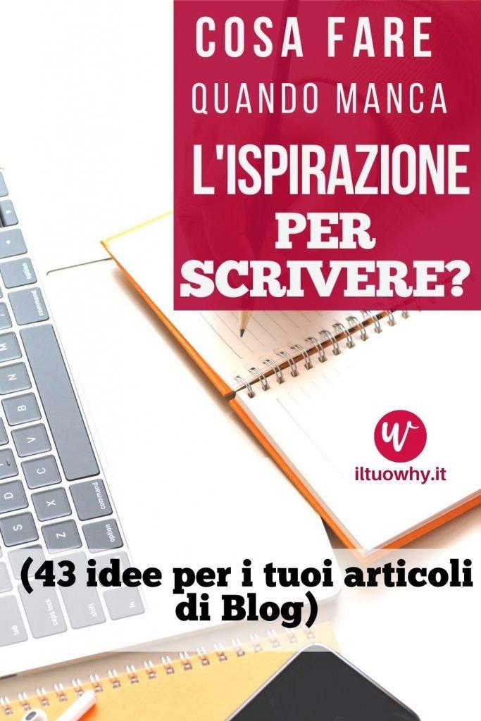 Ispirazione per scrivere2