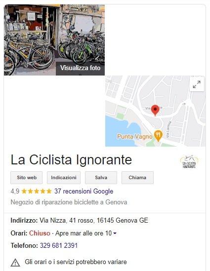 ciclista ignorante