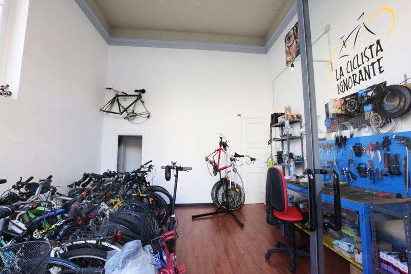 ciclofficina ciclista ignorante