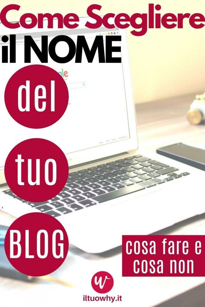 Scegliere nome blog3