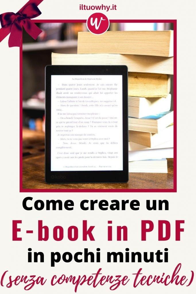 Creare un ebook1