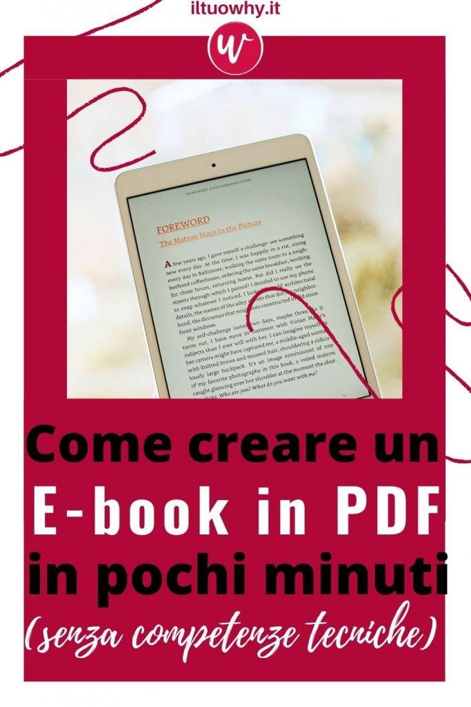 Creare un ebook2