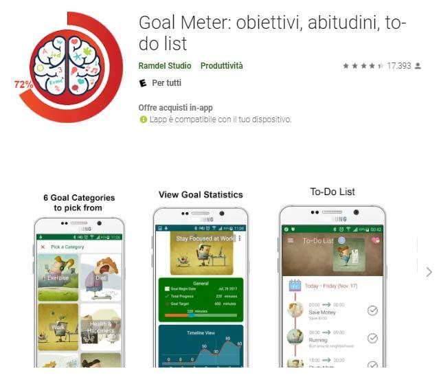goal meter app