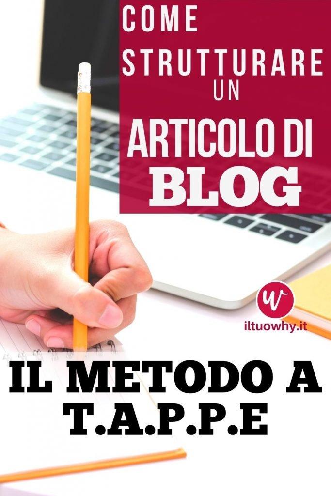 strutturare un articolo di blog1