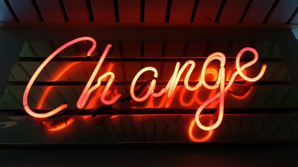 cambiamento change