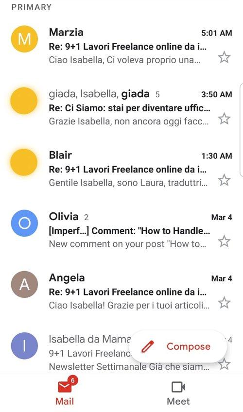 risposte newsletter
