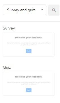 survey block